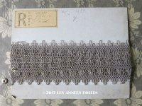 19世紀末 アンティーク メタル製  トリム シルバー