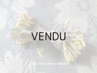 1900年代 アンティーク ペップ アイボリー色 コサージュ用 花芯
