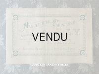 アンティーク アルファベットの刺繍図案帳 ALPHABETS EN COULEURS BROCERIE MARQUE,CROCHET - MANUFACTURE PARISIENNE DES COTONS L.V. -