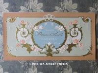 アンティーク ソープラベル 薔薇のガーランド FLEURS D'AVRIL - ERIZMA PARIS -