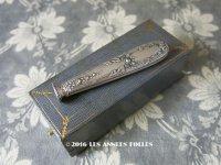 1900年代 アンティーク シルバー製 シーリングスタンプ 薔薇模様 【 C.H 】 シルバー950