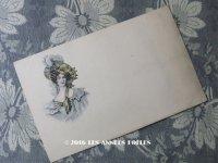 19世紀末 アンティークポストカード 美しい貴婦人