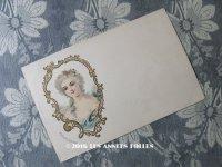 19世紀末 アンティークポストカード MADAME SCARRON スカロン夫人 マントノン侯爵夫人フランソワーズ・ドービニェ