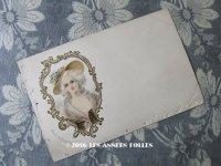 19世紀末 アンティークポストカード MARIE ANTOINETTE マリーアントワネット