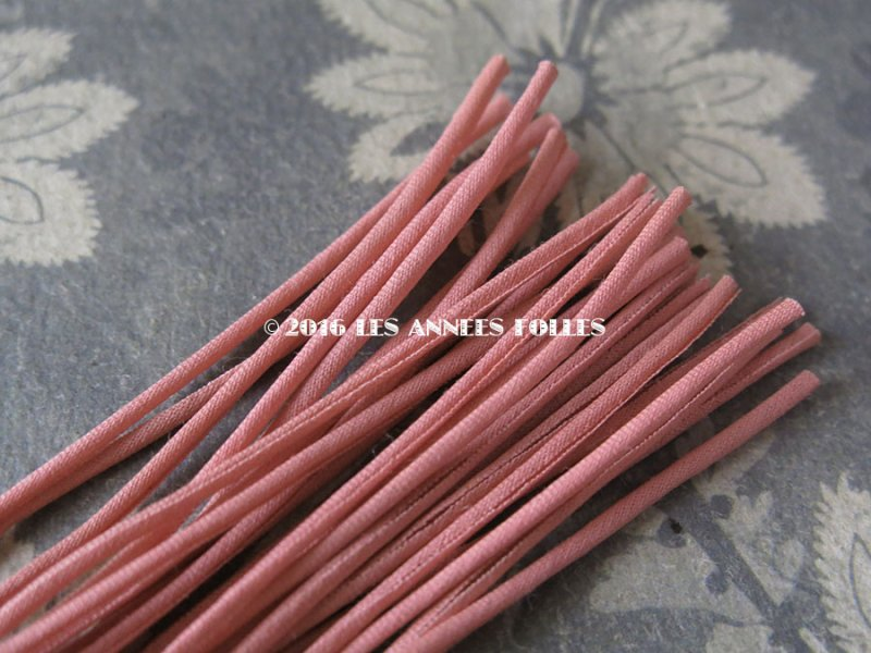 画像3: 1930年代 アンティーク コサージュ用 茎 オールドローズ 24ピース 11cm