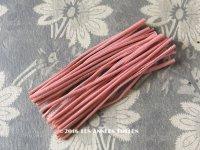 1930年代 アンティーク コサージュ用 茎 オールドローズ 24ピース 9〜9.5cm