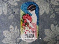 1920年代 アンティーク パフュームカード BABILLAGE DE FLEURS - SALANCY PARIS -