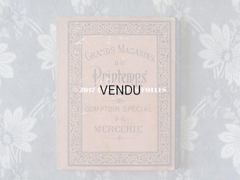 画像2: 19世紀末 アンティーク プランタン クロシェレース 図案帳 ALBUM DE DESSINS POUR CROCHET - GRANDS MAGASINS DU PRINTEMPS PARIS -