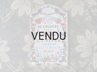 19世紀 アンティーク パフュームラベル A LA REINE DES FLEURS DOUBLE EXTRAIT D'EAU COLOGNE - L.T.PIVER -