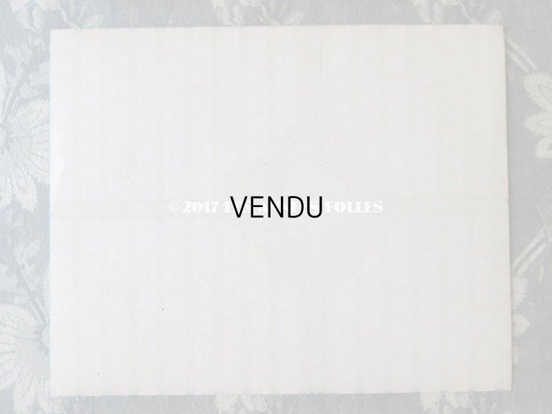 画像3: アンティーク ソープラベル ピンクの薔薇模様 SAVON VASELINE PARFUME A L'EAU DE COLOGNE - GRANDS MAGASINS DU PRINTEMPS PARIS -