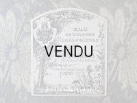 アンティーク GUERLAIN パフュームラベル 天使と小鳥 EAU DE COLOGNE HEGEMONIENNE -GUERLAIN-