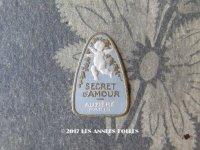 アンティーク 天使のパフュームラベル SECRET D'AMOUR - AUZIERE PARIS -