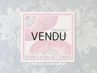 アンティーク 芥子の花のパフュームカード PAVOT D'ARGENT - ROGER & GALLET -