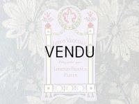 アンティーク パフュームラベル LOTION VEGETALE AU JAUNE D'OEUF - LORENZY-PALANCA PARIS -