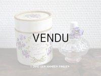 アンティーク 菫のパフュームボックス&ボトル VIOLETTES DE LA COTE D'AZUR - BERDOUES FRANC E-