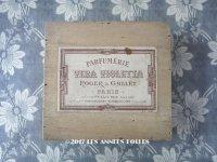 アンティーク パフュームボックス VERA VIOLETTA- ROGER&GALLET PARIS -