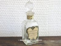 1882年 アンティーク パフュームボトル 薔薇のガーランド FOUGERE ROYALE - HOUBIGANT PARIS -