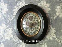 アンティーク ルリケール 聖遺物のガラスドーム 木製フレーム
