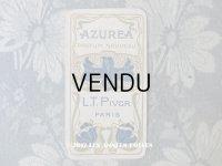 1903年 アンティーク パフュームカード AZUREA - L.T.PIVER -