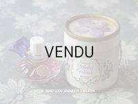 アンティーク 菫の小さなパフュームボックス&ボトル ESSENCE VIOLETTE DE TOULOUSE - BERDOUES FRANCE -