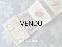 アンティーク とても小さな タペストリーの刺繍図案帳 ALBUM DE TAPISSERIE - N.ALEXANDRE&CIE -