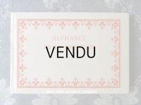 アンティーク DMC 刺繍図案帳 ALPHABET DE LA BRODEUSE - BIBLIOTHEQUE D.M.C -
