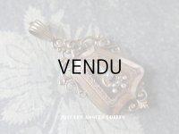 19世紀 アンティーク ナポレオン3世 ペンダント ピンクゴールド