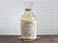 19世紀末 アンティーク パフュームボトル 鈴蘭 香水瓶 EXTRAIT POUR LE MOUCHOIR MUGUET - GRANDS MAGASINS DU LOUVRE PARIS -