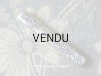1900年代 アンティーク シルバー製 ニードルケース ヤドリギ 裁縫道具
