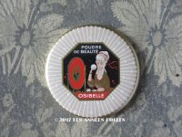 アンティーク ハンドミラー 手鏡 POUDRE DE BEAUTE OSIBELLE - HARMELLE-SALARNIER PARIS -