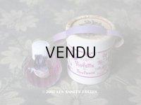 アンティーク 菫のパフュームボックス&ボトル VIOLETTE DE TOULOUSE - SUDRE -