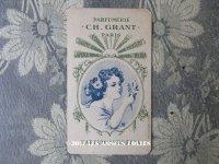 アンティーク パフュームカード  PARFUM AMBRELIA - CH.GRANT PARIS -