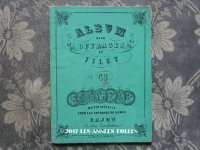 1855〜1882年 アンティーク フィレレースの図案帳 ALBUM POUR OUVRAGES AU FILET N68 - MAISON SAJOU -