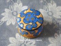 1930年代 アンティーク 薔薇のパウダーボックス  - SERGY PARIS -