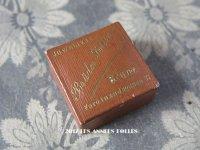 アンティーク キャラメル色のジュエリーボックス