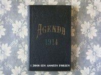 1914年 アンティーク 未使用の手帳 スケジュール帳 AGENDA 1914