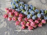アンティーク コサージュ&ジュエリー用 花の蕾のパーツのセット