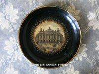 19世紀 アンティーク ナポレオン3世 パリのオペラ座 パピエマシェのトレイ