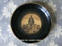 19世紀 アンティーク ナポレオン3世 パリのアンヴァリッド パピエマシェのトレイ