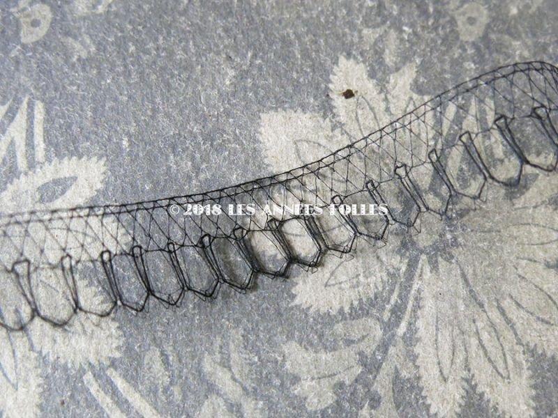 画像3: 1900年代 アンティーク シルク製 レース  1.6cm幅