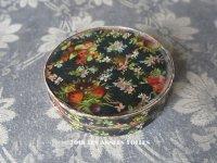 19世紀 アンティーク お菓子箱 果実と花