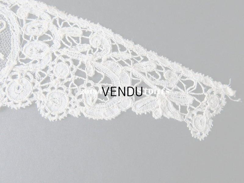 画像4: 19世紀末 アンティーク ニードルレース 胸飾り ポワンドガーズ ポワンドローズ  『ポワン・ド・ガーズ』 『ポワン・ド・ローズ』