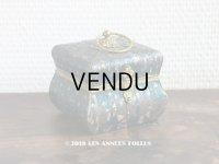 19世紀 アンティーク ナポレオン3世時代 小さなお菓子箱  ドラジェ & チョコレート 小さな花模様