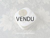 アンティーク とても小さなパウダーボックス POUDRE DE PERLES FINES - BARDIN & CIE PARIS -