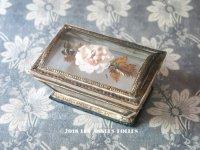 1820年代 アンティーク ルイ18世時代 ガラスドームのお菓子箱  ボンボン & チョコレート