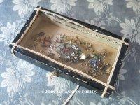 19世紀 アンティーク ルリケール 聖遺物のガラスフレーム  TOUT A JESUS PAR MARIE