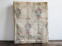 1900年代 アンティーク 書類ケース 薔薇&リボンのガーランド&メダイヨン