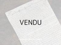 19世紀 アンティーク パルシュマン 羊皮紙の古文書