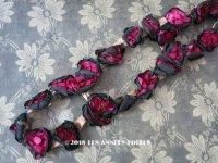 アンティーク 薔薇の布花のガーランド ドレスの装飾