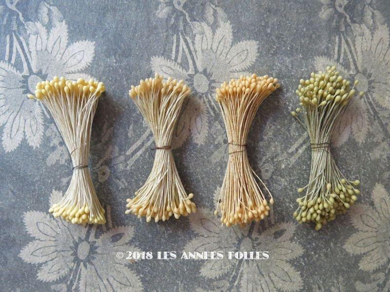 画像1: 1900年代 アンティーク ペップ コサージュ用 花芯